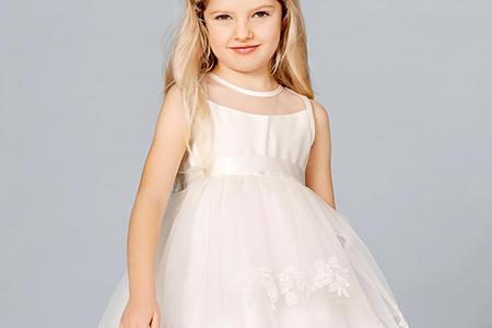 مدل لباس عروس دخترانه Lilly 3