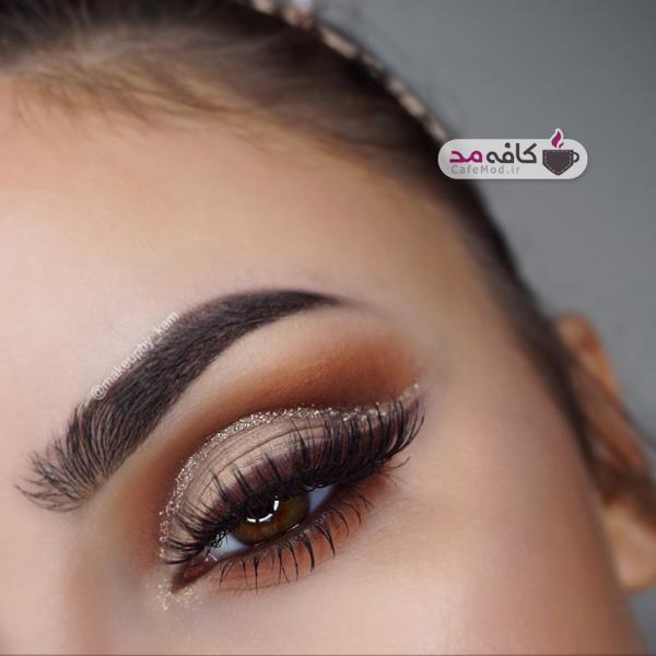 مدل آرایش چشم و صورت