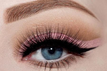 مدل آرایش مجلسی چشم 13