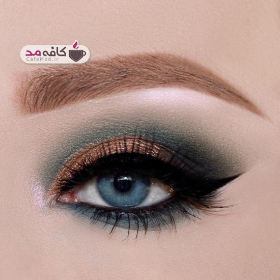 مدل آرایش مجلسی چشم