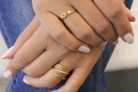 مدل جواهرات Gabriel & Co 13