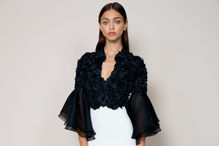 مدل لباس مجلسی زنانه Badgley Mischka 11