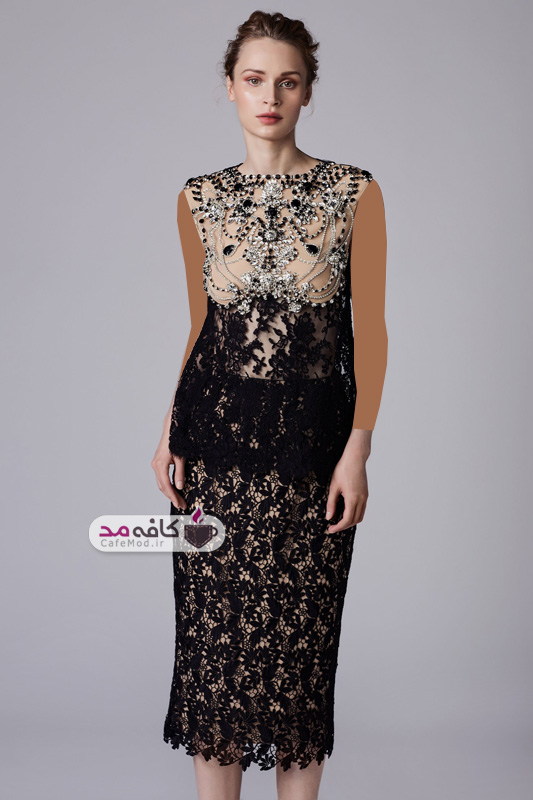 مدل لباس مجلسی زنانه Reem Acra