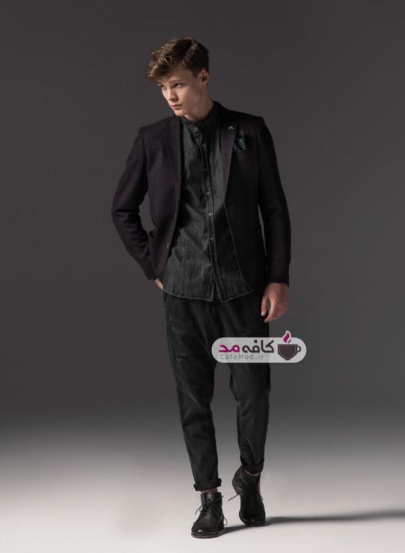 مدل لباس پاییزه مردانه Outfit Italia