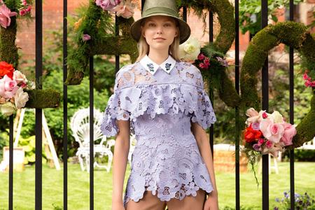 مدل لباس مجلسی زنانه Lela Rose 11