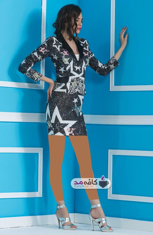 مدل لباس مجلسی لی زنانه