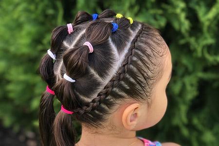 مدل مو برای دختربچه ها 11
