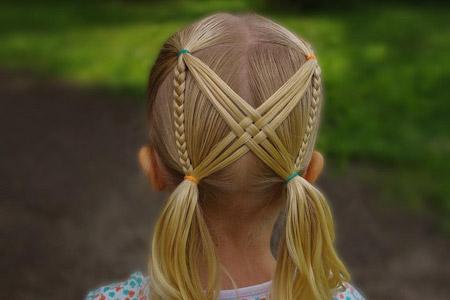 مدل آرایش مو برای کودکان 13