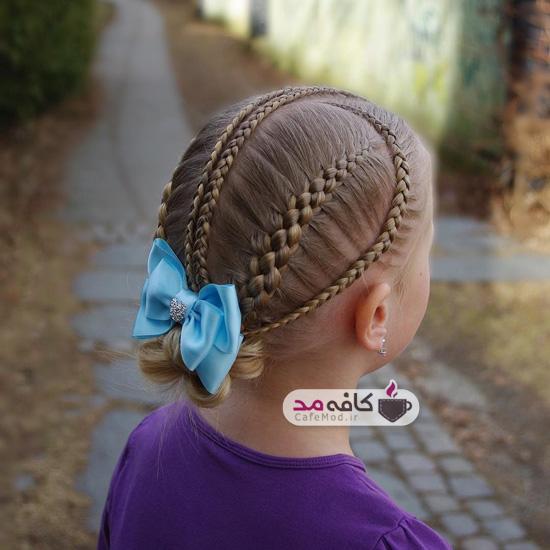 مدل آرایش مو برای کودکان