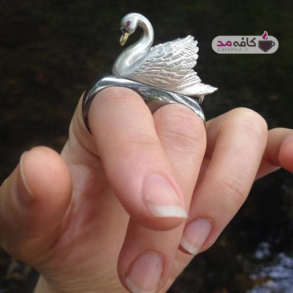 مدل انگشتر طرح حیوانات