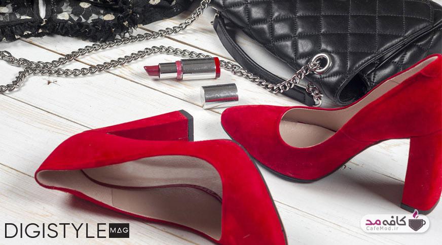 خرید کفش زنانه با ۴ قانون کفش پاشنه دار