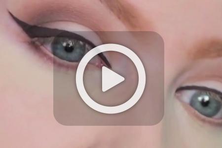 فیلم آموزش کشیدن خط چشم