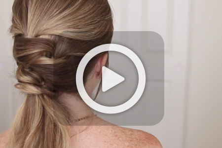 فیلم آموزش بستن موی سر