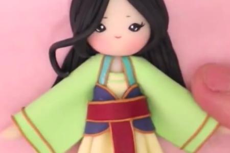 فیلم آموزش ساخت عروسک ژاپنی