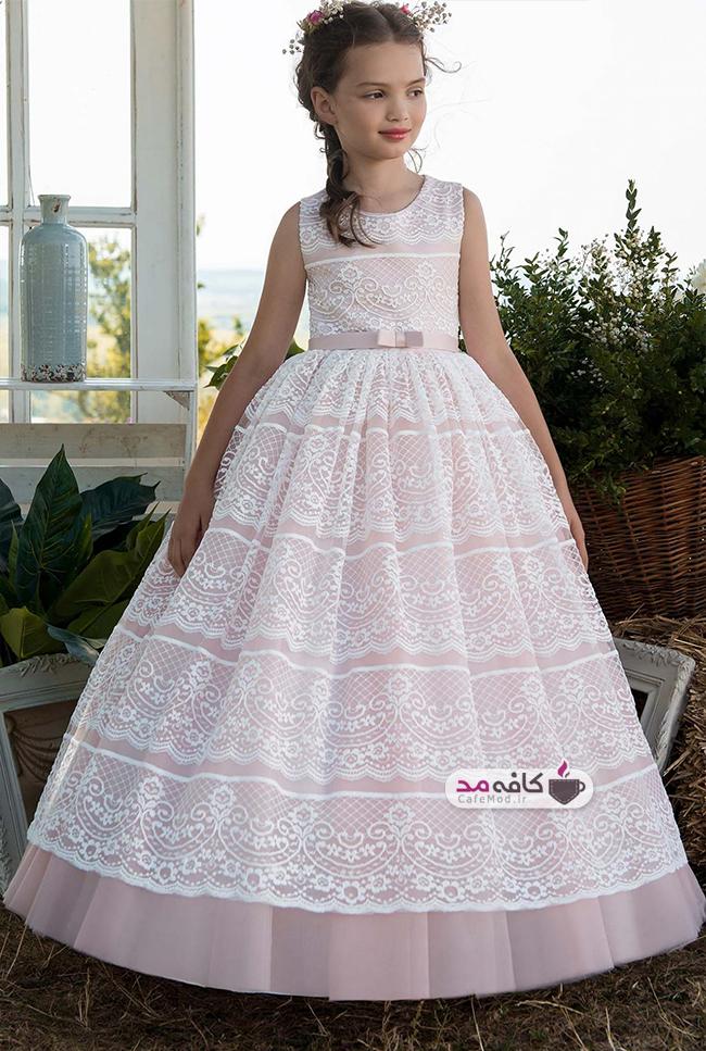 مدل لباس دخترانه مجلسی 2018