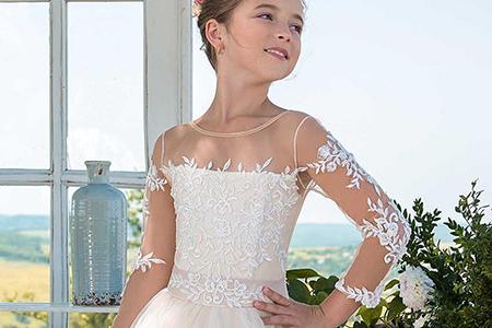مدل لباس عروس دخترانه JeorjettDress 10