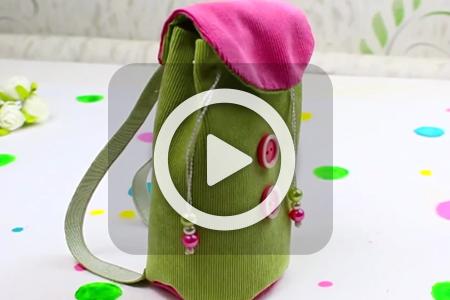 فیلم آموزش دوخت کیف موبایل