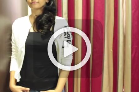 فیلم آموزش تغییر تیشرت به سویشرت