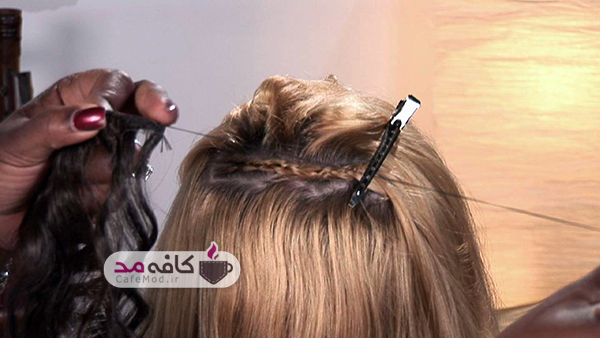 اکستنشن مو و انواع آن