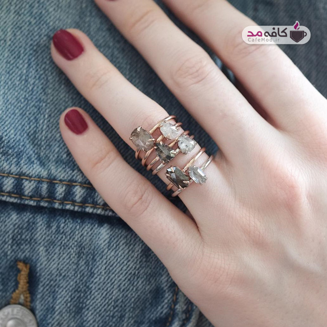 مدل انگشترهای شیک