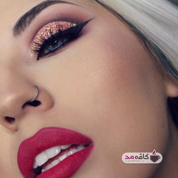 مدل آرایش خلیجی