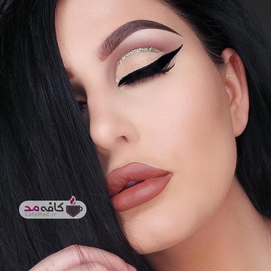 مدل آرایش غلیظ چهره