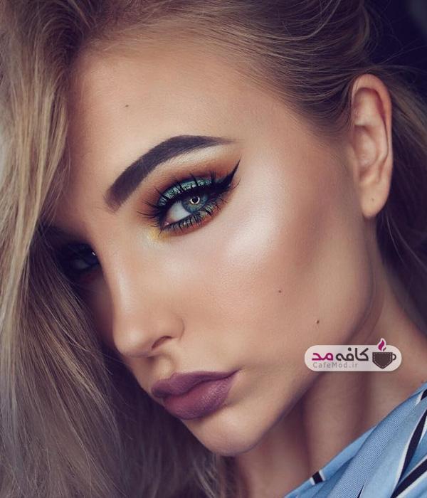 مدل آرایش صورت ظریف