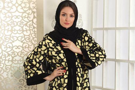 مدل مانتو مجلسی ایرانی نقره 13