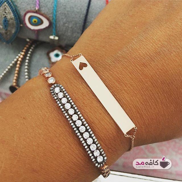 مدل دستبند های فشن