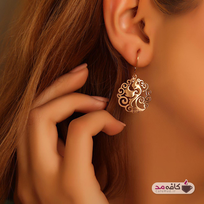 مدل طلا ایرانی برند میراث شرق