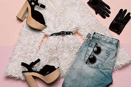 ست شیک کفش و لباس زنانه با 5 روش ساده 1