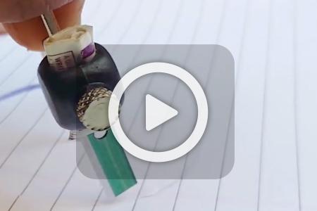 فیلم آموزش استفاده از مواد بازیافت