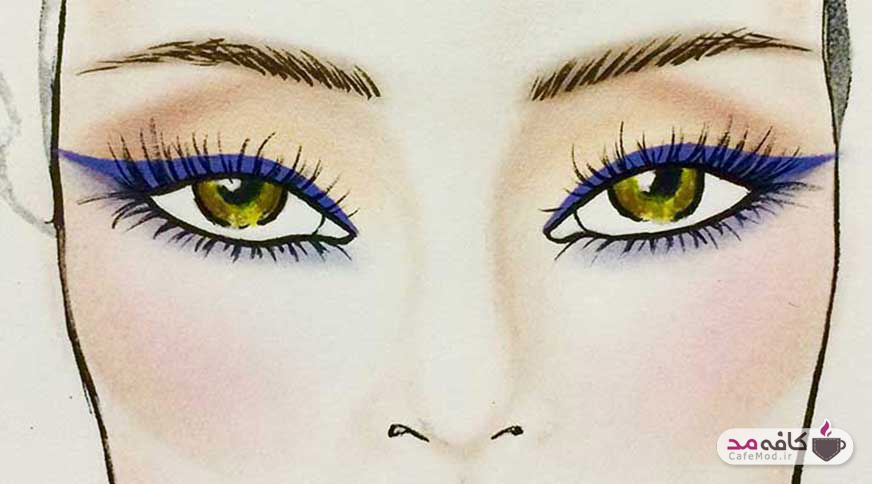 خط چشم مناسب برای رنگ چشمهای شما کدام است؟