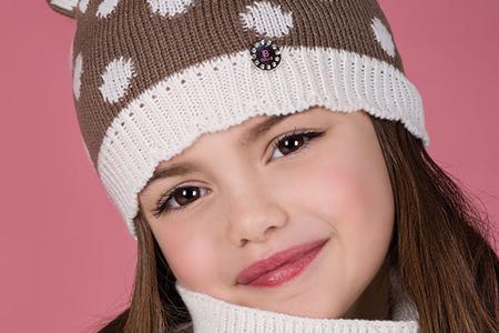 مدل شال و کلاه دخترانه 10