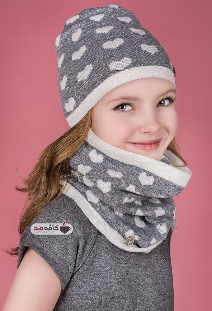 مدل شال و کلاه دخترانه