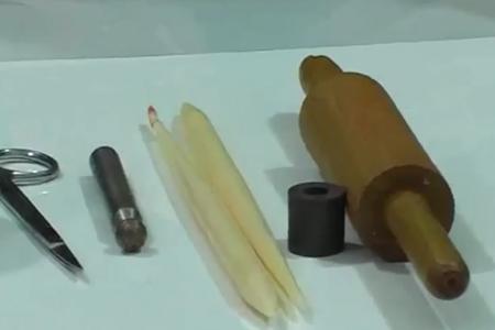 فیلم معرفی ابزار عروسک سازی با خمیر