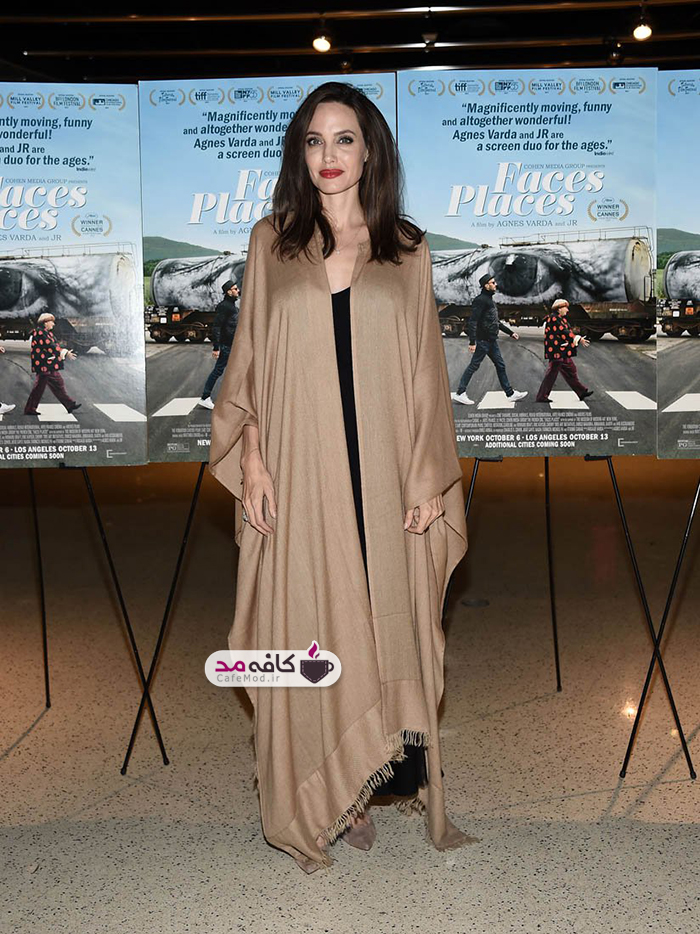 لباس های آنجلینا جولی و جنیفر لارنس در اکران Faces Places