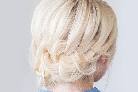 آموزش بافت موی زیبا مناسب مهمانی 6