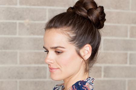 آموزش بافت موی زیبا مناسب مهمانی 4