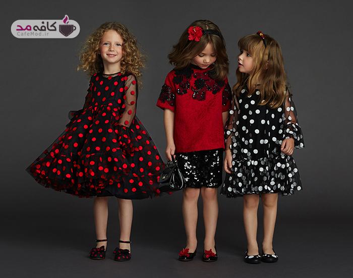 انتخاب مناسب لباس برای دختر بچه ها