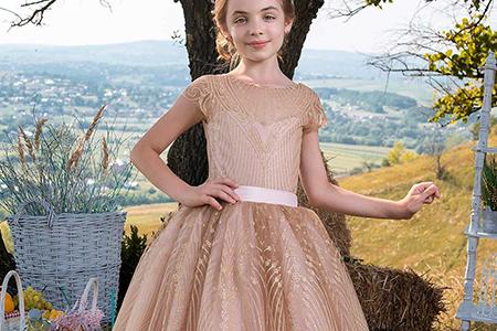 مدل لباس دخترانه مجلسی ۲۰۱۸ 11