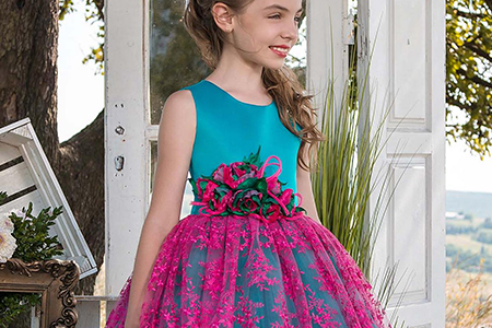مدل لباس دخترانه مجلسی ۲۰۱۸ 10
