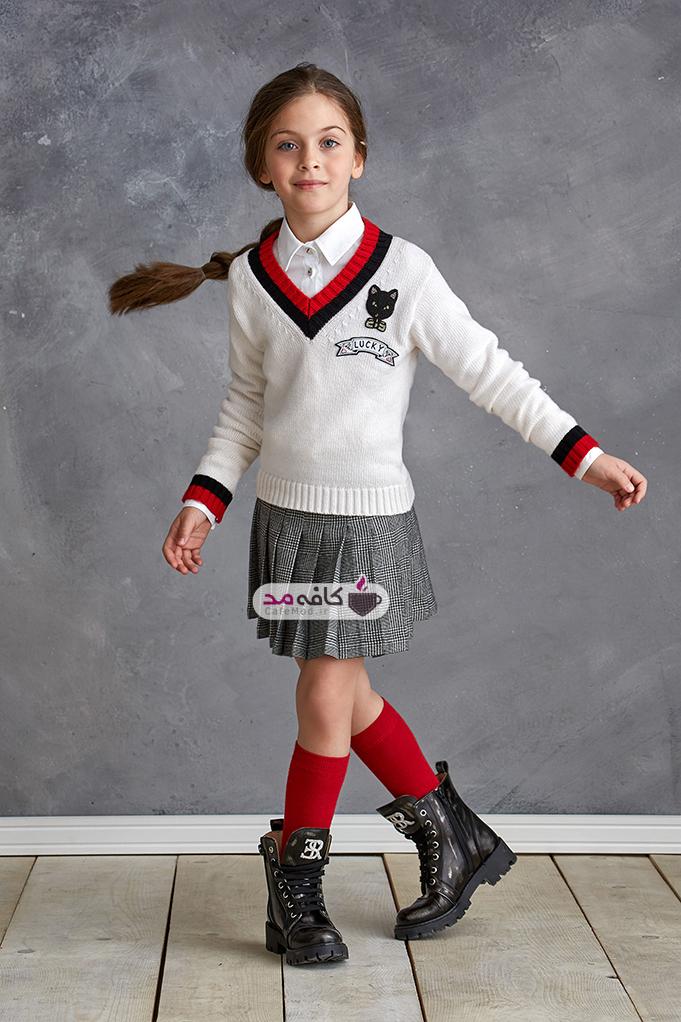 مدل لباس پاییزه دخترانه Ermannoscervino