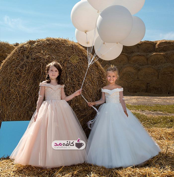 مدل های لباس مجلسی دخترانه