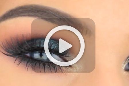 فیلم آرایش چشم مناسب پاییز