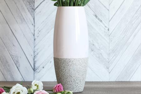 آموزش تغییر ظاهر گلدان ساده 2