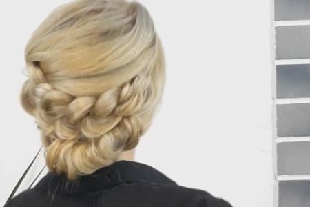 فیلم آموزش بافت موی سریع در منزل