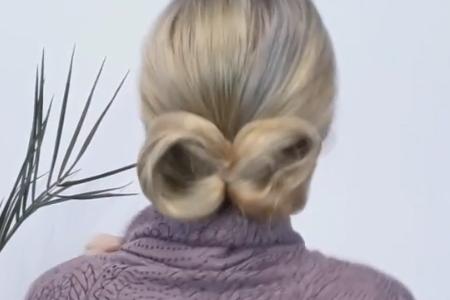 فیلم آموزش بافت موی متوسط