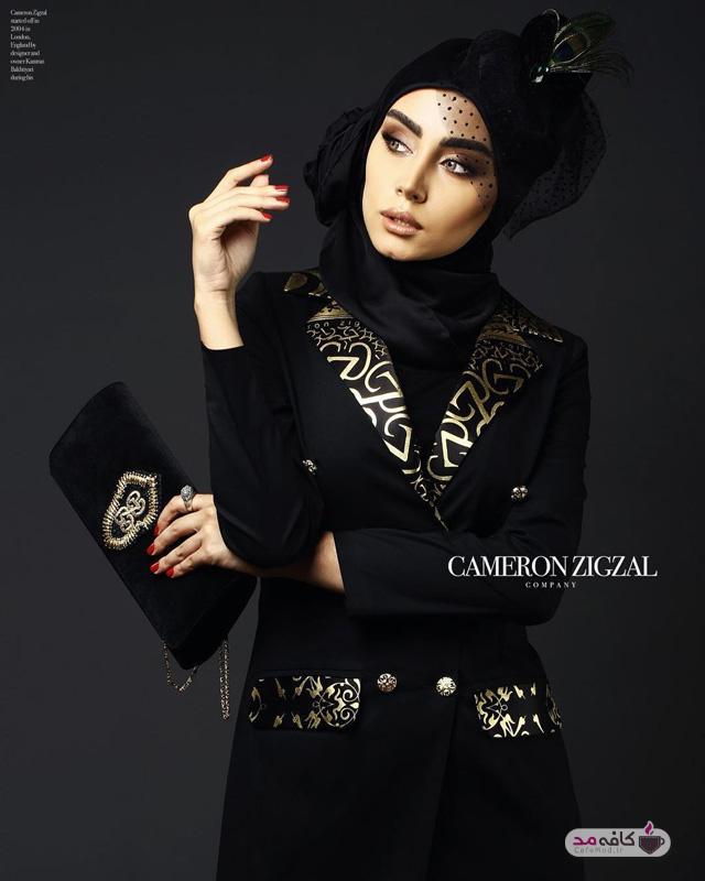مدل مانتو زنانه CameronZigzal