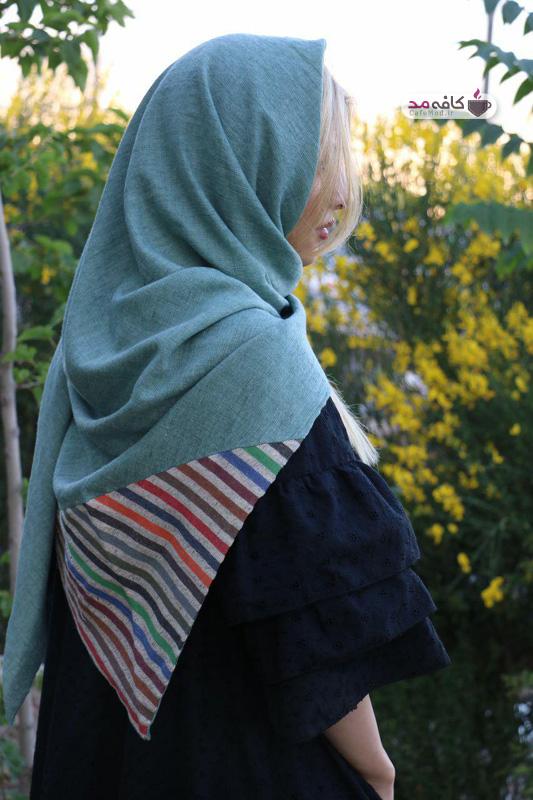 شال و روسری دست دوز فرگون